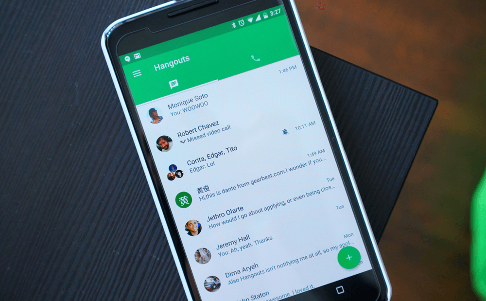 how to change hangouts number