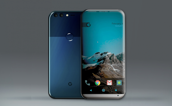 This is how the new Google Pixel 2 might look like