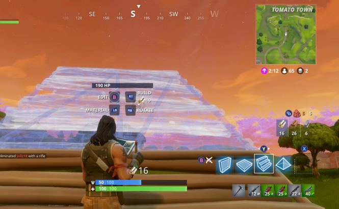 Building in Fortnite