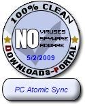 PC Atomic Sync Clean Award