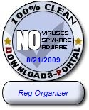 Reg Organizer Clean Award