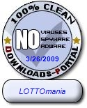 LOTTOmania Clean Award