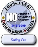Dating Pro Clean Award