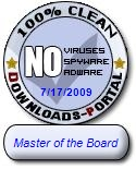 Master of the Board Clean Award