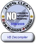 VB Decompiler Clean Award