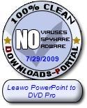 Leawo PowerPoint to DVD Pro Clean Award