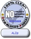 ALZip Clean Award