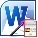 MS Word Export To Multiple RTF Files Software