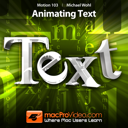 Course For Motion 5 103 - Animating Text