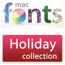 MacFonts Holiday Fonts