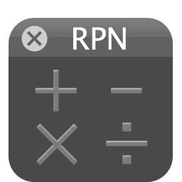 Always on Top RPN Calculator