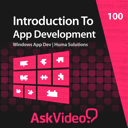 AV for Windows 8 App Dev - Introduction To App Dev