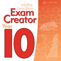 Maths Practice Exam Creator - Year 10