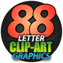 88 Letter Clipart Graphics