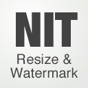 NIT resize and watermark