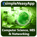 Computer Science, MIS and Networking - A simpleNeasyApp by WAGmob
