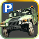 3D Military Trucker Parking Simulator Free