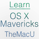 Learn - OS X Mavericks Edition
