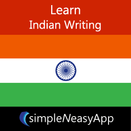 Learn Indian Writing - A simpleNeasyApp by WAGmob
