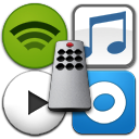 Music Control for iTunes, Spotify, Rdio and Personalized Internet Radio