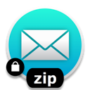 Attach an encrypted ZIP archive to an email