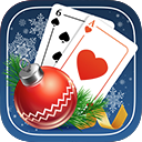 Solitaire Game. Christmas