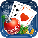 Solitaire Game. Christmas Free