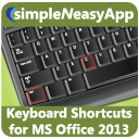 Keyboard Shortcuts for MS Office 2013