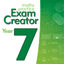 Maths Practice Exam Creator - Year 7