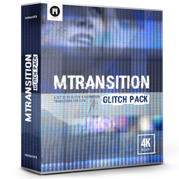 mTransition Glitch Pack 4K