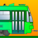 Tram Simulator 2D - City Train Driver - Virtual Rail Driving Game