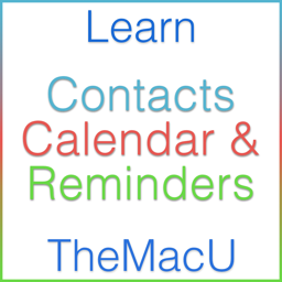 Learn - Contacts, Calendar & Reminders Edition