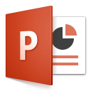 Microsoft PowerPoint current slide - set language to EN-US on all pages.scpt