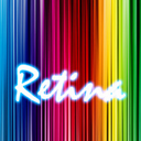 Retina Wallpapers HD with Glow Effects
