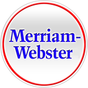 Merriam Webster dictionary and thesaurus