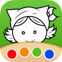 Coloring Book - Children - funny painting pages for kids and adults, boys and girls