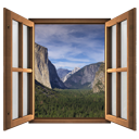 Magic Window Yosemite