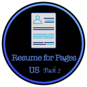 Resume for Pages - US Letter Size