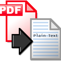 KK-pdf text convert to rtf text
