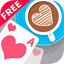 Solitaire Match 2 Cards. Valentine's Day Free