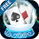 Solitaire Christmas Match 2 Cards Free