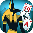 Egypt Solitaire. Match 2 Cards