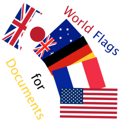 World Flags for Documents