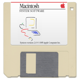 1985 Mac System Software (MFS) (:)