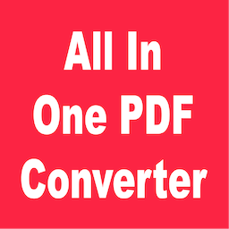 All In One PDF Converter