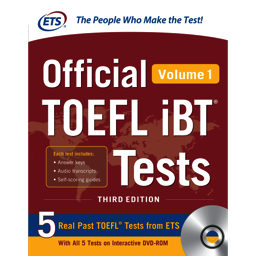 TOEFL iBT Tests Volume 1 2