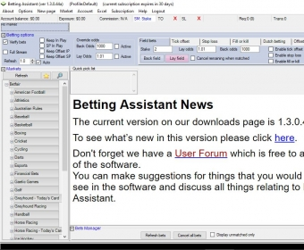 betting assistant ibook exelon