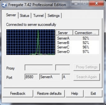 Download Freegate 7.35 Professional Edition