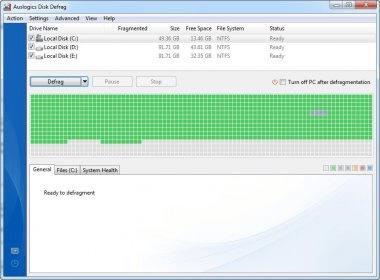 Auslogics Disk Defrag 8.0 24