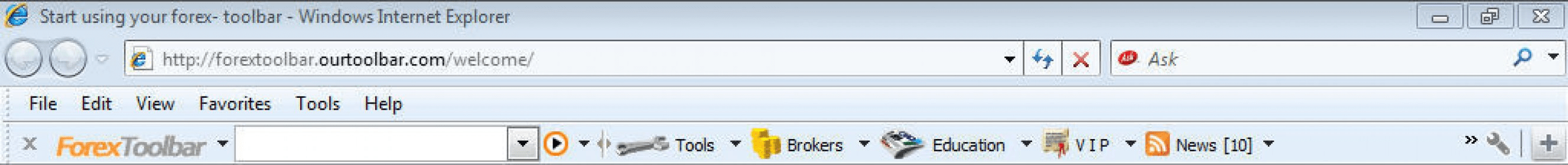 Forex news toolbar ethical investment trusts uk wiki